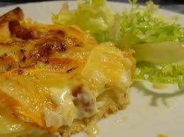 Tartiflette au chou vert et salade blog la verdura - Temps de cuisson tartiflette ...